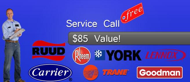 free service call ac repair coral springs
